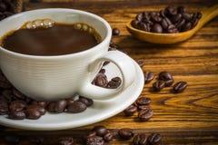 Fond de détente de concept/concept de détente/concept de détente illustré par la tasse de café Photo libre de droits