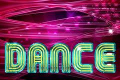 Fond de danse Photos libres de droits