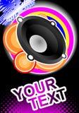 Fond de danse de disco Image stock