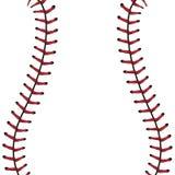Fond de dentelle de base-ball Photographie stock