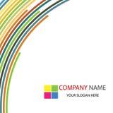 Fond de descripteur d'entreprise constituée en société Images stock