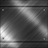 Fond de descripteur en métal Image stock