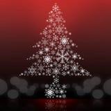 Fond de dessin d'arbre de Noël Image libre de droits
