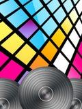 Fond de disco Photos stock