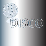 Fond de disco Image stock