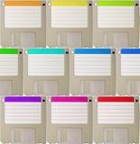 Fond de disquette Photos libres de droits