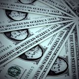 Fond de dollar US Photos stock