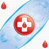 Fond de don du sang. Photos stock