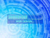 Fond de données de web design Image stock