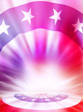 Fond de drapeau américain Photographie stock