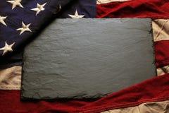 Fond de drapeau américain Photos stock