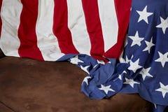 Fond de drapeau américain Image stock