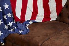 Fond de drapeau américain Photographie stock libre de droits