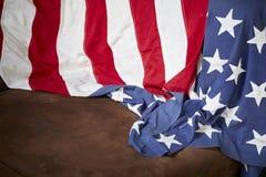 Fond de drapeau américain Photo libre de droits