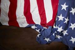 Fond de drapeau américain Images stock
