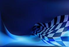 Fond de drapeau de course Photographie stock libre de droits