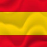 Fond de drapeau de l'Espagne Vecteur illustration de vecteur