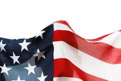 Fond de drapeau des Etats-Unis avec le copyspace Images libres de droits
