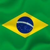 Fond de drapeau du Brésil Vecteur illustration de vecteur