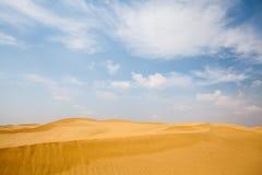 Fond de dunes de désert Photo libre de droits
