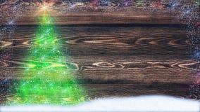 Fond de félicitations Naturel a modifié la tonalité les planches en bois faites en mélèze image libre de droits