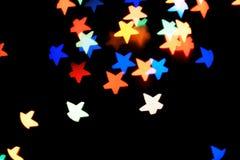 Fond de fête abstrait avec des lumières photos libres de droits