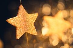 Fond de fête abstrait d'étoiles Image libre de droits