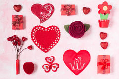 Fond de fête au jour de valentines Image libre de droits