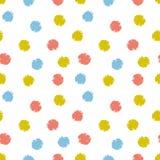Fond de fête de confettis de vecteur Les enfants tirés par la main conçoivent pour le tissu, wallpaper ou enveloppent le papier illustration de vecteur