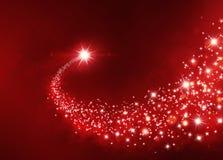 Fond de fête d'étoile chanceuse photo libre de droits
