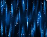 Fond de fête et riche de bleu. Images stock