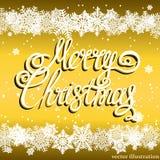 Fond de fête de Joyeux Noël illustration libre de droits