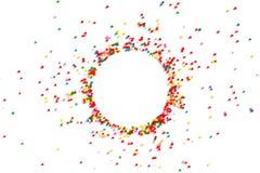 Fond de fête lumineux de sucrerie multicolore photo libre de droits