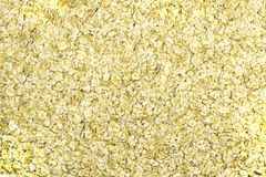 Fond de farine d'avoine Photographie stock