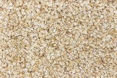 Fond de farine d'avoine L'avoine s'écaille texture photos stock