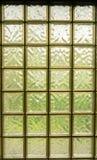 Fond de fenêtre de bloc en verre Image stock