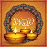 Fond de festival de Diwali Photo libre de droits