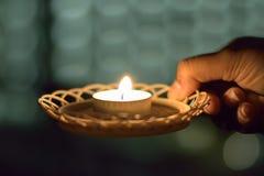 Fond de festival indien Diwali Images stock