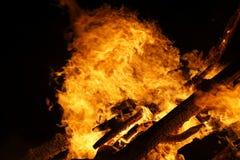 Fond de feu de camp image libre de droits