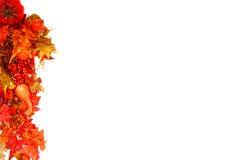 Fond de feuillage d'automne Photo stock