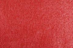 Fond de feutre de rouge Images stock