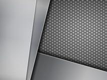 Fond de fibre de carbone illustration stock