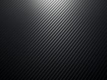 Fond de fibre de carbone Photographie stock