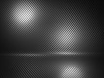 Fond de fibre de carbone Photographie stock libre de droits