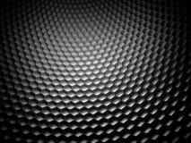 Fond de fibre de carbone d'hexagone Photos stock