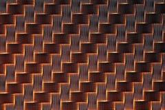 fond de fibre du carbone 3d Image stock