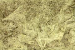 Fond de fibres de laine de laitier Images libres de droits