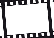 Fond de film Photo stock