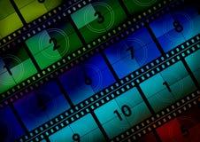 Fond de film Image stock