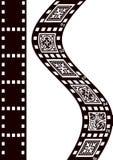 Fond de film Photo libre de droits